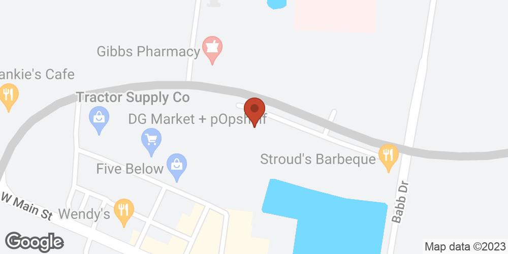 Google Map of Adoration Home Health – Lebanon, Tennessee