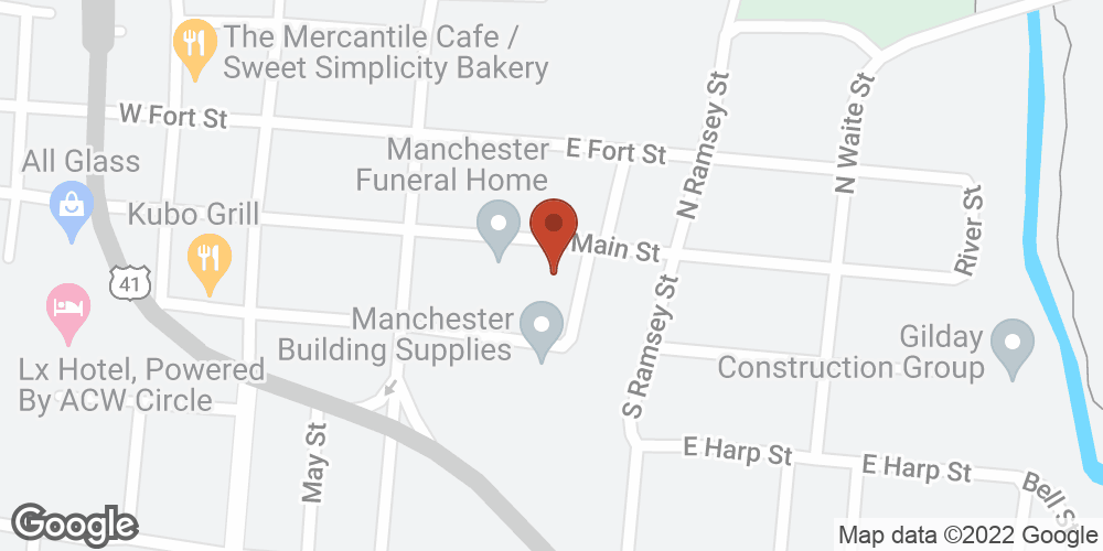Google Map of Adoration Home Health – Manchester, Tennessee