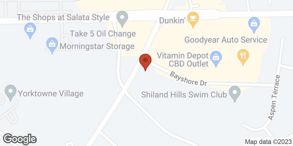 Google Map of Advanced Home Health  – Rock Hill