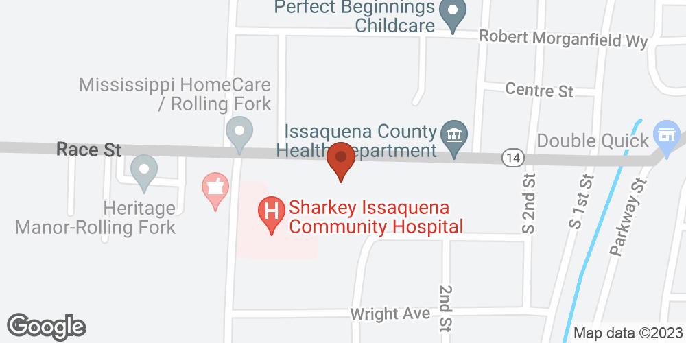 Google Map of Adoration Home Health – Rolling Fork, Mississippi