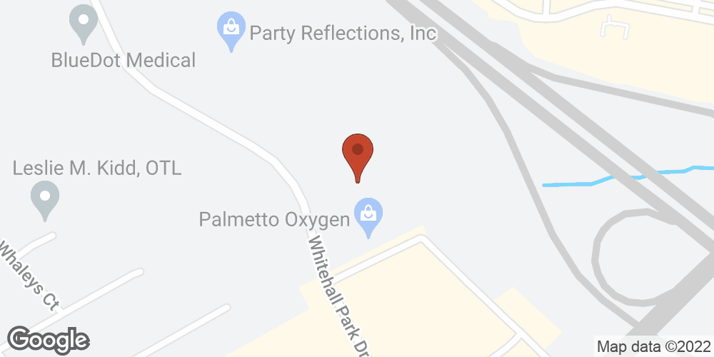 Google Map of Advanced Home Health – Charlotte