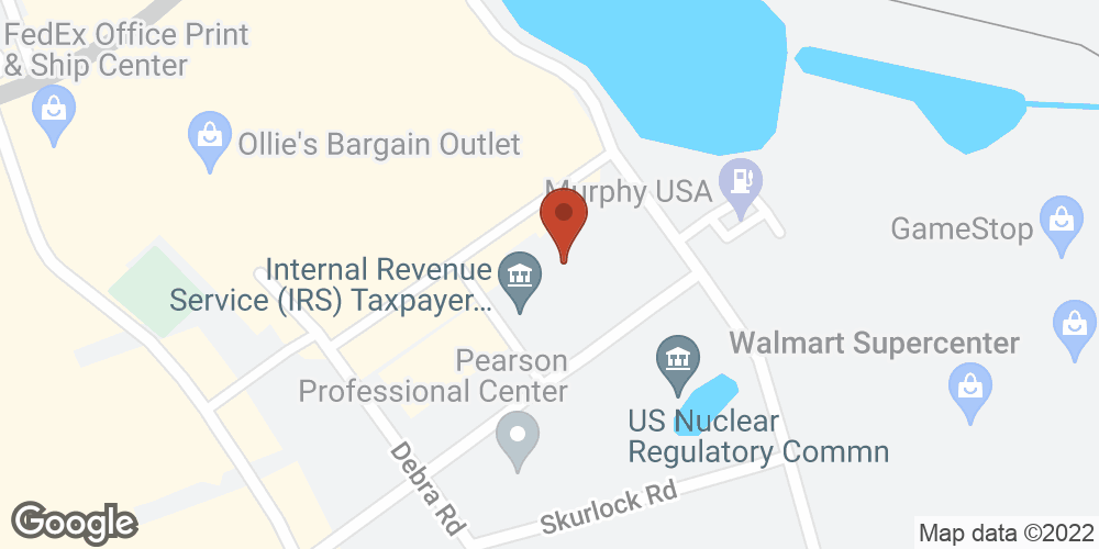 Google Map of Adoration Home Health – Chattanooga, Tennessee
