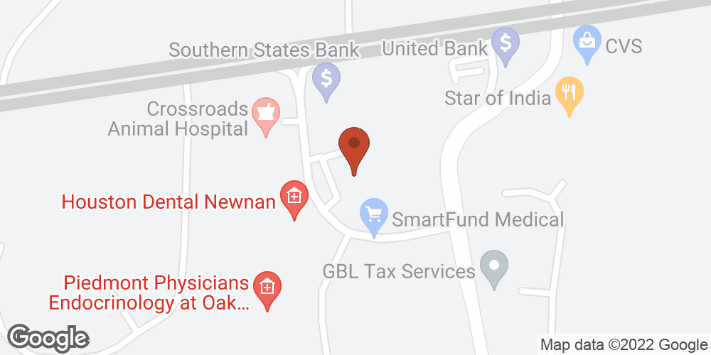 Google Map of Sacred Journey Hospice – Newnan