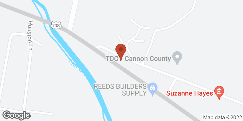 Google Map of Adoration Home Health – Woodbury, Tennessee