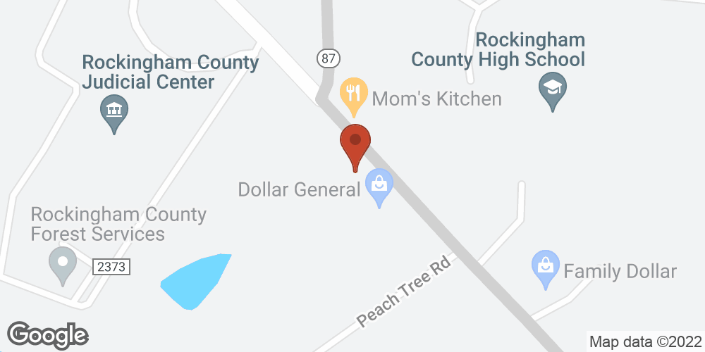 Google Map of Advanced Home Health – Reidsville