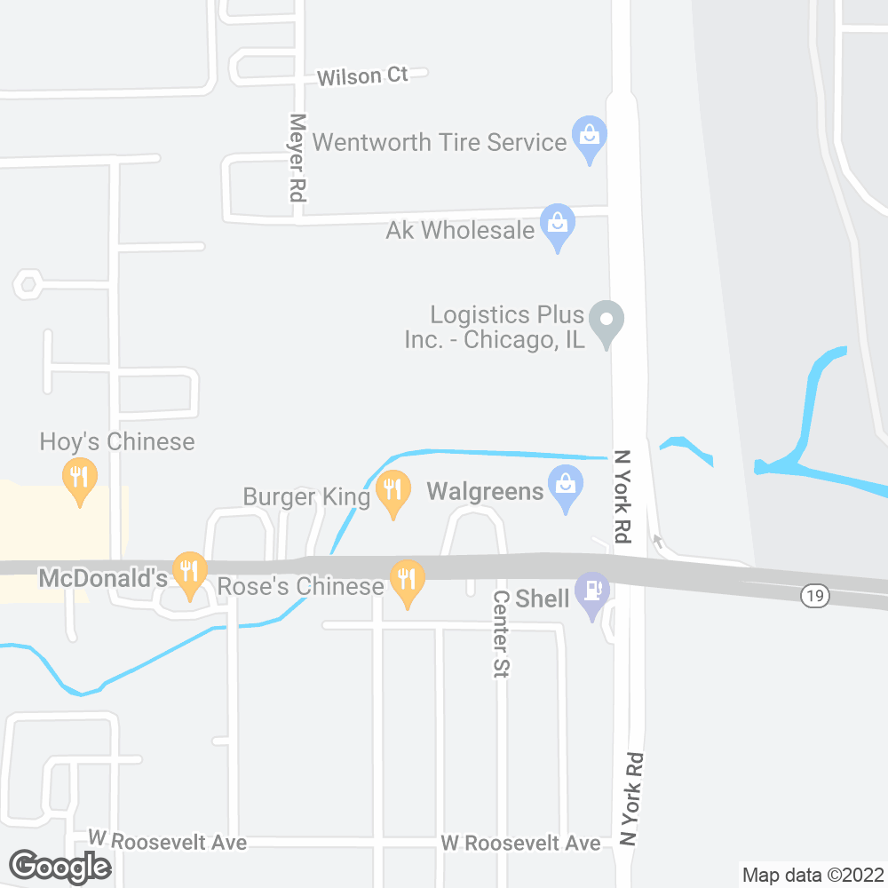 Google Map of PharMerica – Bensenville, IL