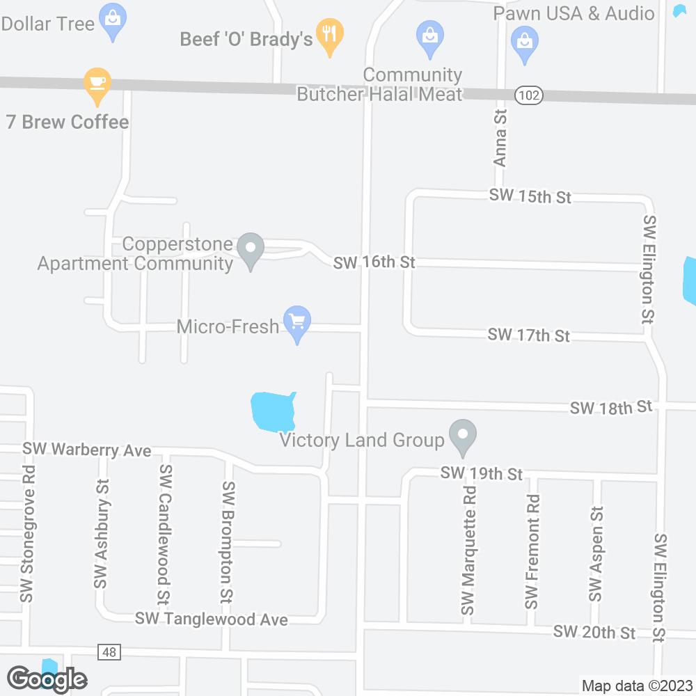 Google Map of Amerita – Bentonville, AR