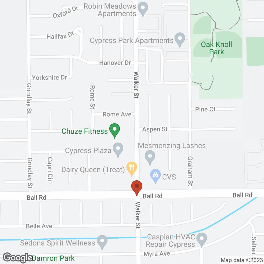 Google Map of PharMerica – Cypress, CA