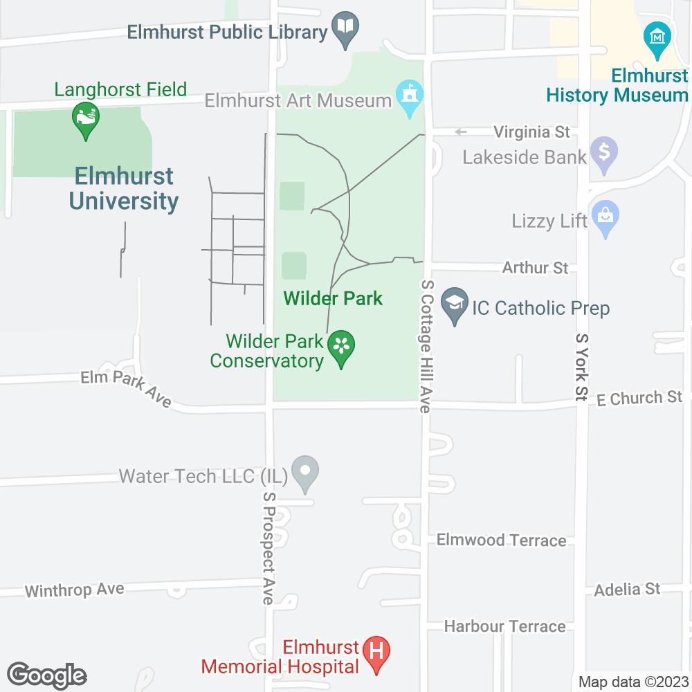 Google Map of Pharmacy Alternatives – Elmhurst, IL