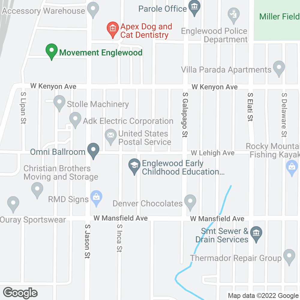Google Map of OnePoint Patient Care – Englewood, CO