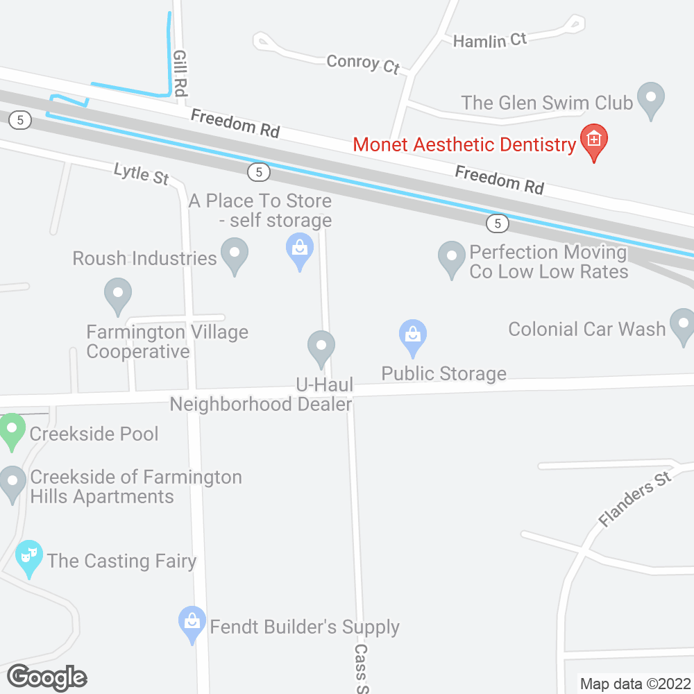Google Map of OnePoint Patient Care – Farmington, MI