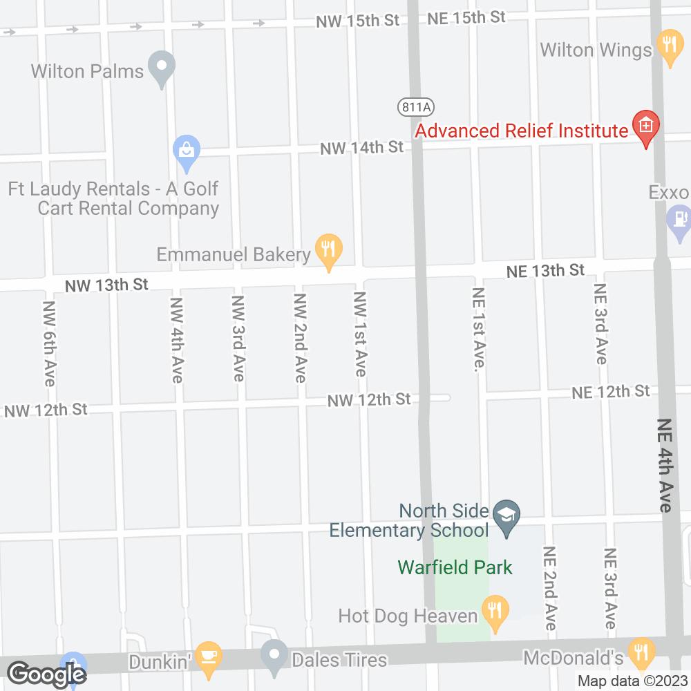 Google Map of Onco360 – Ft. Lauderdale, FL