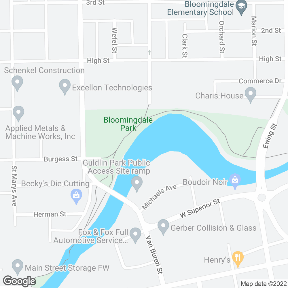 Google Map of PharMerica – Fort Wayne, IN