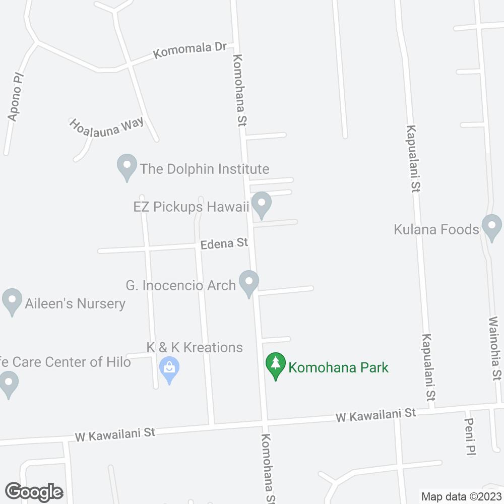 Google Map of PharMerica – Hilo, HI