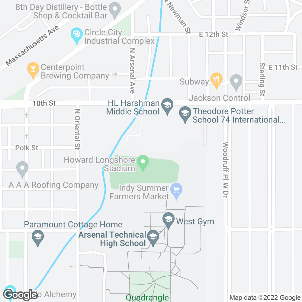 Google Map of PharMerica – Indianapolis, IN