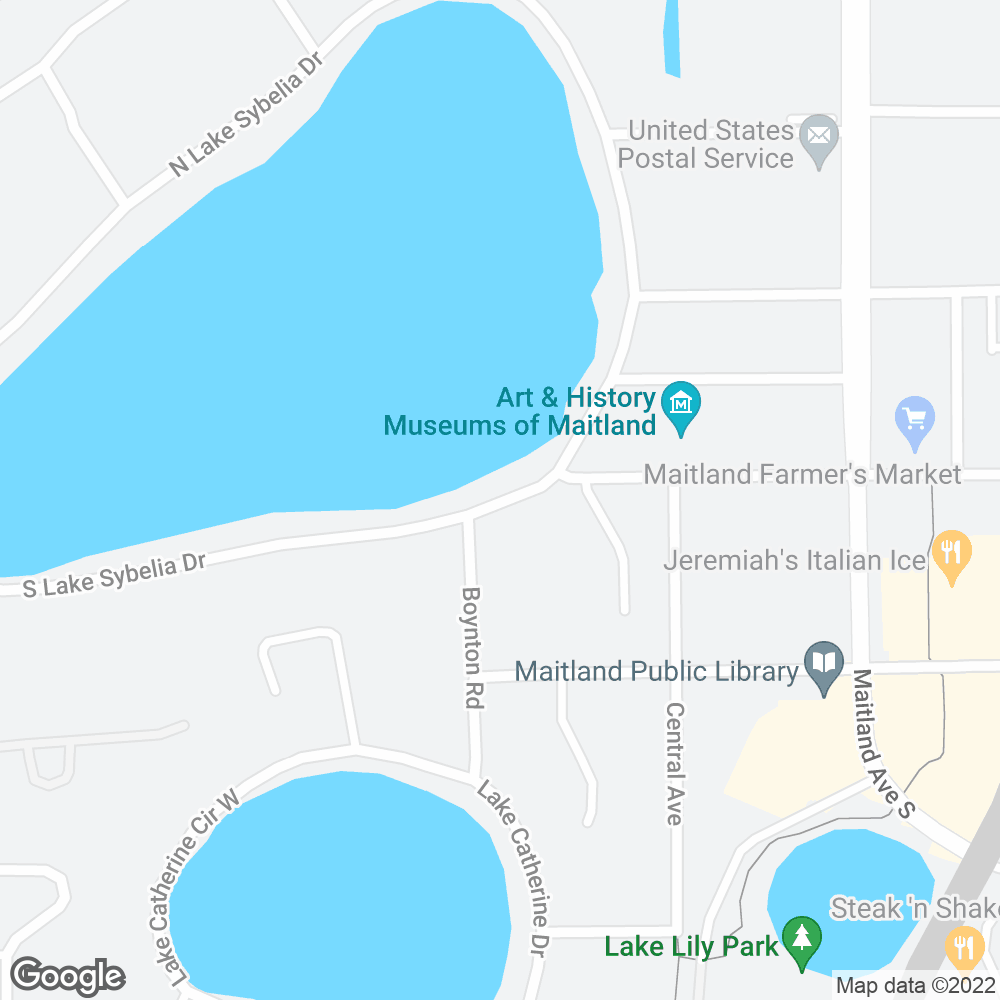 Google Map of OnePoint Patient Care – Maitland, FL