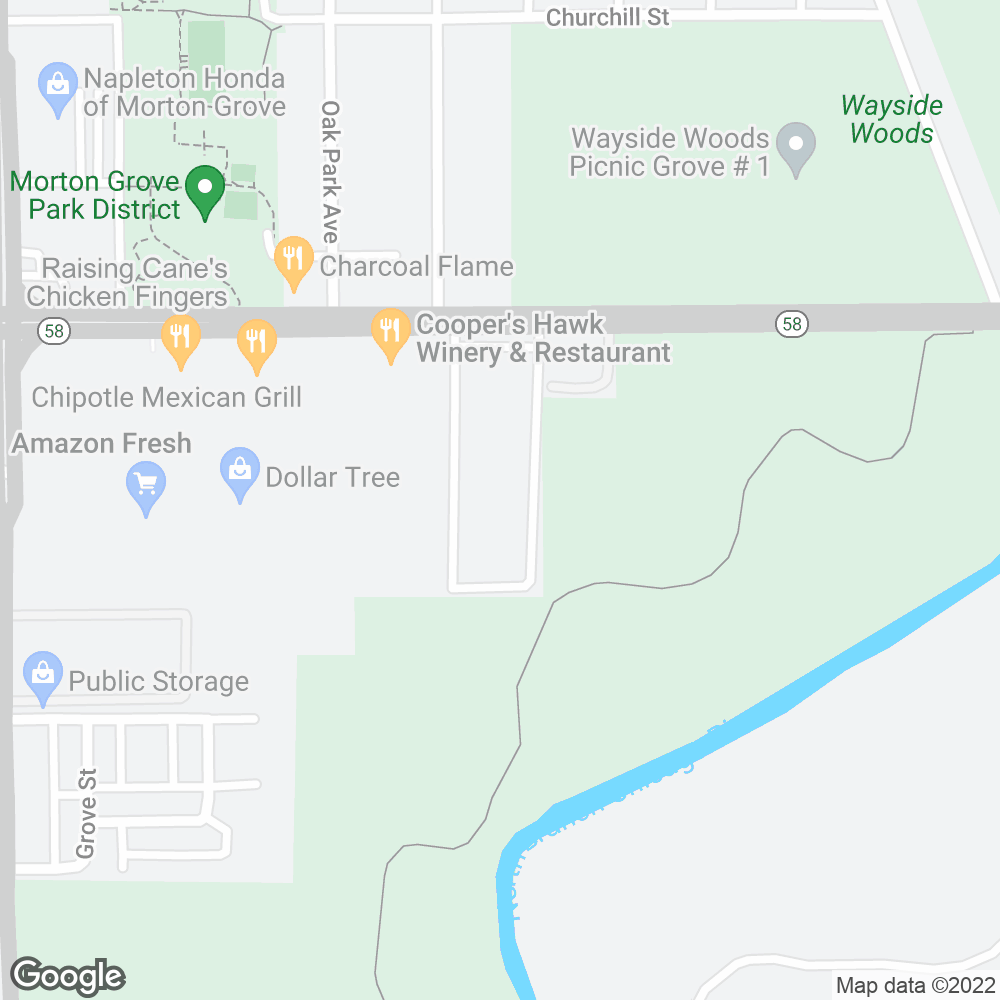 Google Map of OnePoint Patient Care – Morton Grove, IL