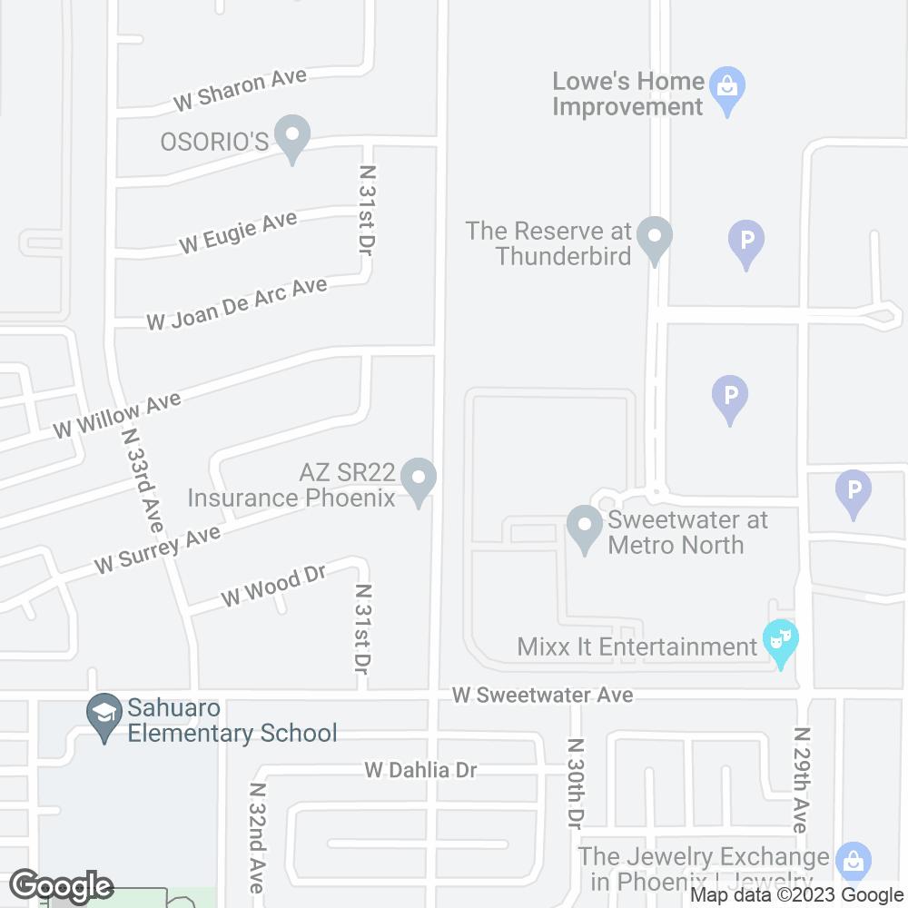 Google Map of PharMerica – Phoenix, AZ