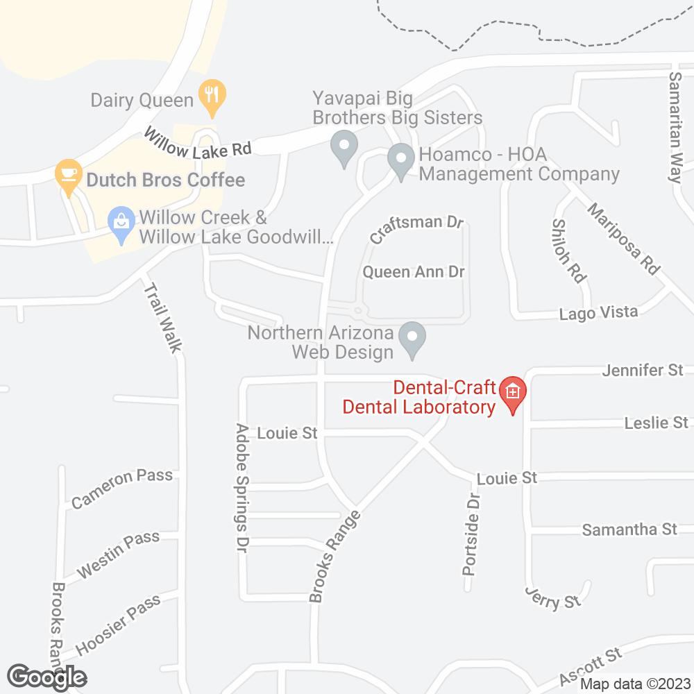 Google Map of Amerita – Prescott, AZ