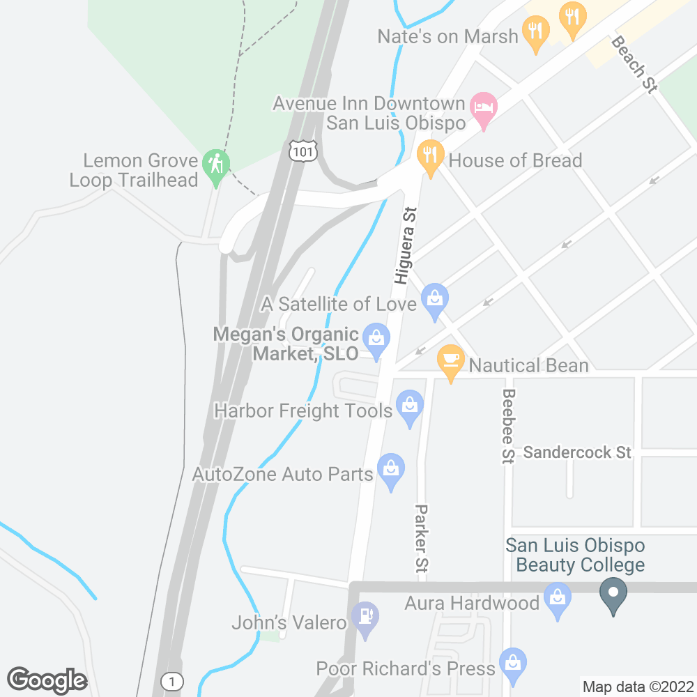 Google Map of PharMerica – San Luis Obispo, CA