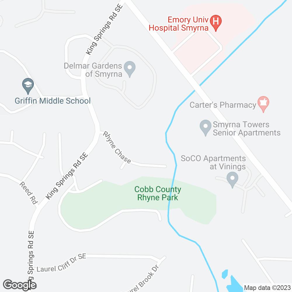 Google Map of PharMerica – Smyrna, GA