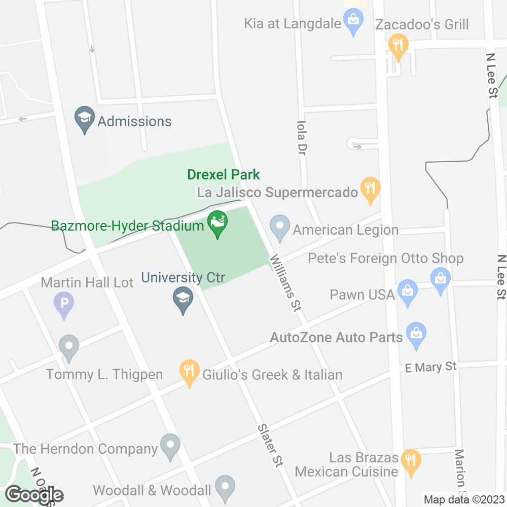 Google Map of Pharmacy Alternatives – Valdosta, GA