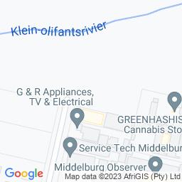 Map of Middelburg Blitsbal