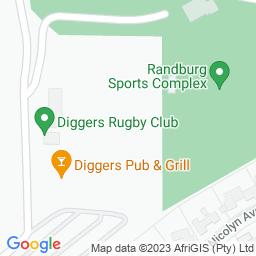 Map of Randburg Cricket Club
