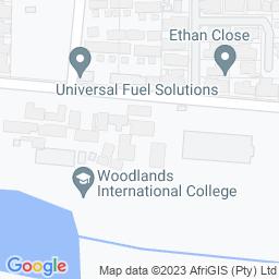 Map of Woodlands International College