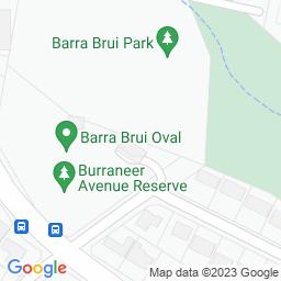 Map of Barra Brui