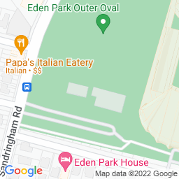 Map of Eden Park Outer Oval (Eden Park No. 2).