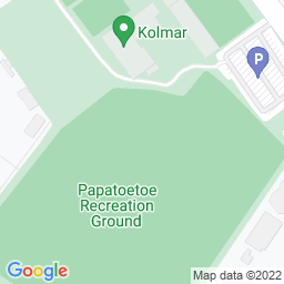 Map of Papatoetoe Rec Ground.