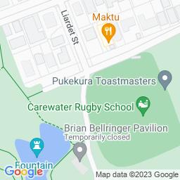 Map of Pukekura Park, New Plymouth.