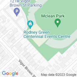 Map of McLean Park, Napier.