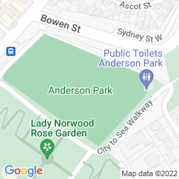 Map of Anderson Park