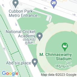 Map of M Chinna Swami Stadium