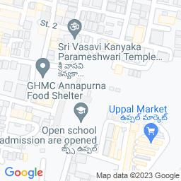 Map of uppal