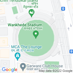 Map of Wankhade Stadium