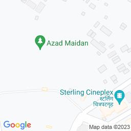 Map of Aazad Maidan