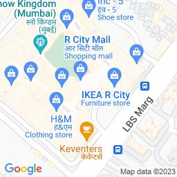 Map of Dreamfields, R Citi Mall