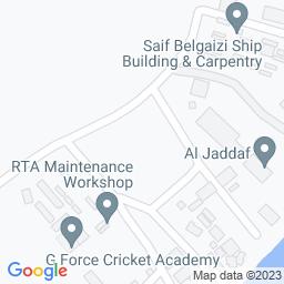 Map of G Force Cricket Academy, Jadafs