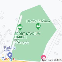 Map of Hardoi Sports Stadium