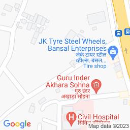 Map of Devilal Stadium