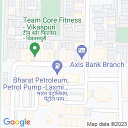 Map of Vikas Puri Cricket Coaching Center