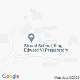 Map of Stroud School