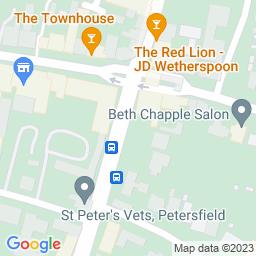 Map of Petersfield cricket club