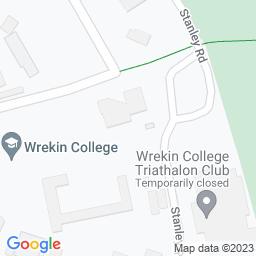 Map of Wrekin college