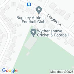 Map of Wythenshawe CC - Longley Lane