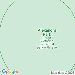 Map of Friends; Alexandra Park