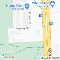 Map of Friends Sporting Club, Manchester